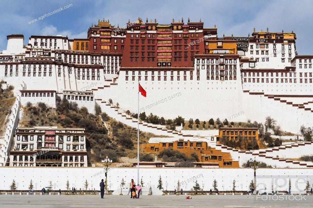 Imagen: Potala palace. Lhasa, Tibet.