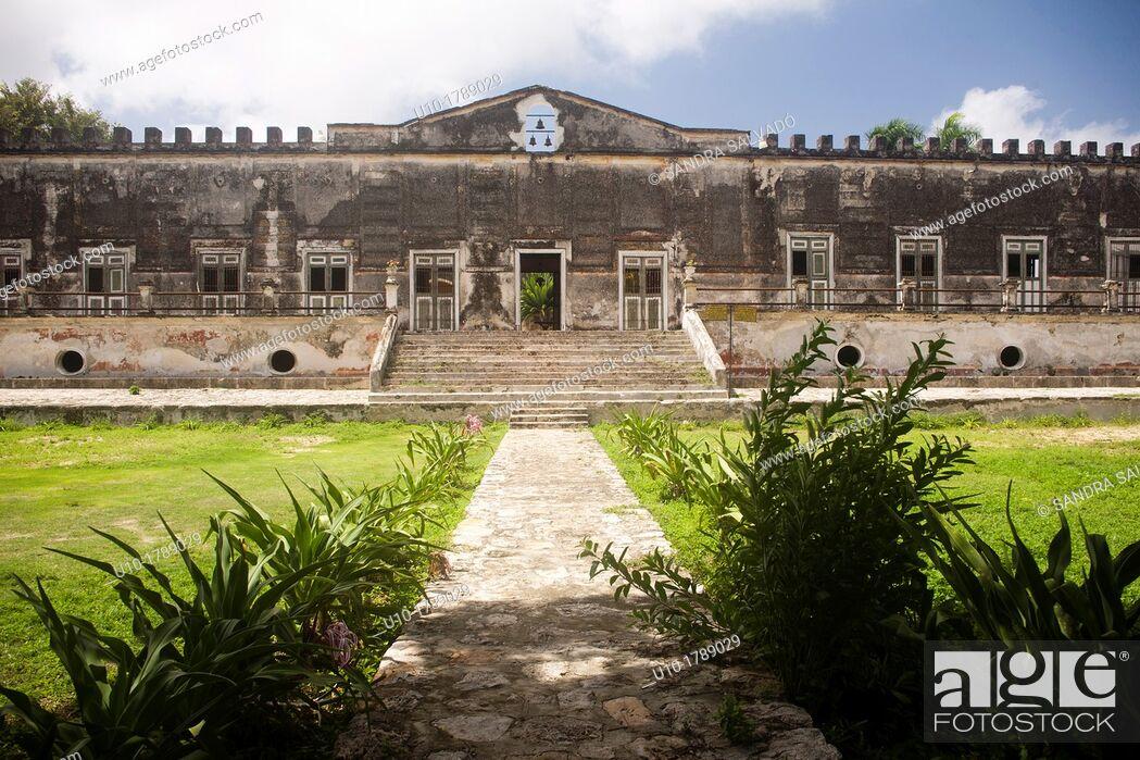 Stock Photo: Hacienda Yaxcopoil, Yucatan, Mexico.