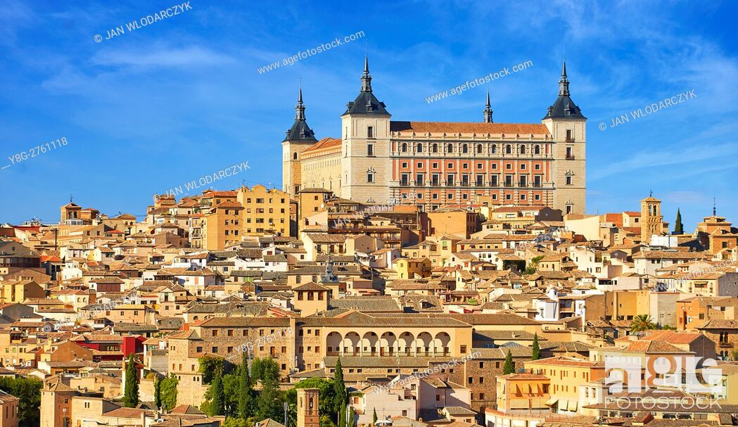 Photo de stock: Alcazar of Toledo, Spain.