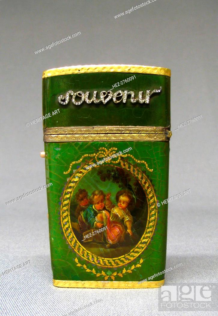 Photo de stock: Souvenir, 1774-80. Creator: Unknown.