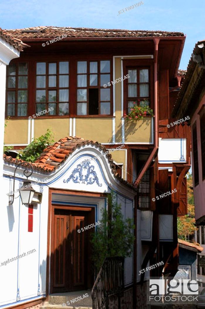 Stock Photo: Bulgaria, Plovdiv, old city, habitation.
