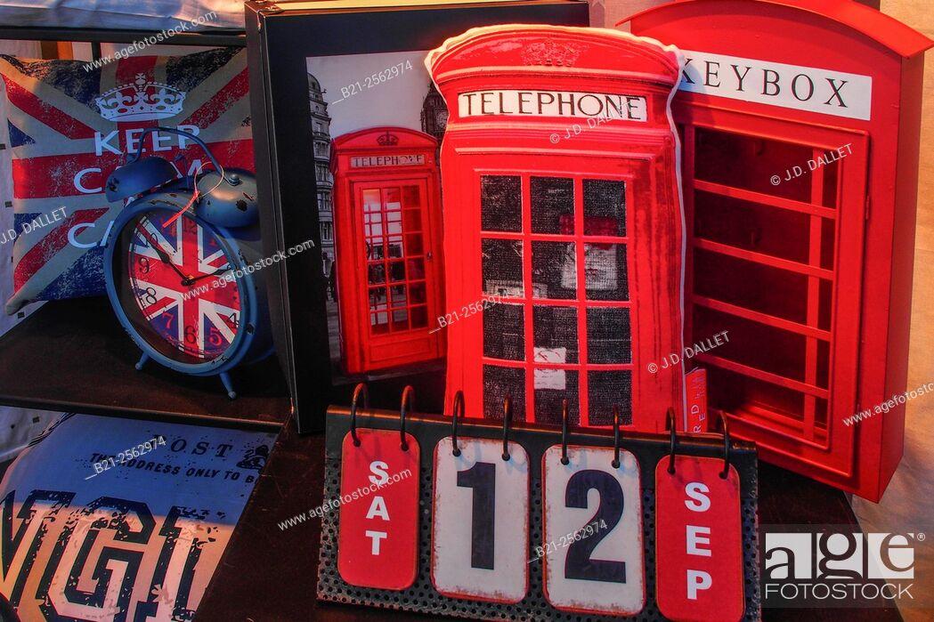 Stock Photo: UK souvenirs.
