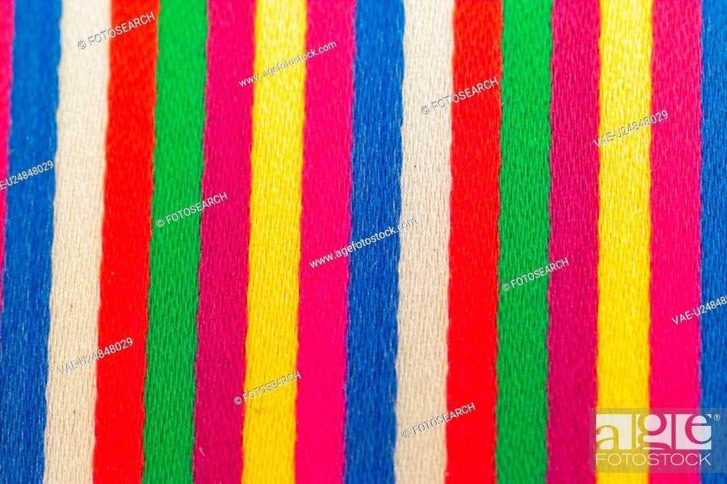 Stock Photo: colorbar, design, background, cloth.