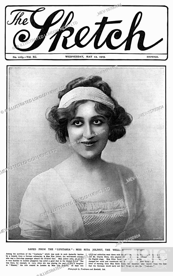 Rita Jolivet (1885 - 1962), French stage and film actress