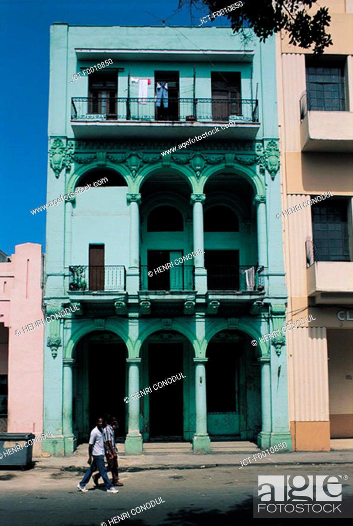 Stock Photo: Hanana, old house.