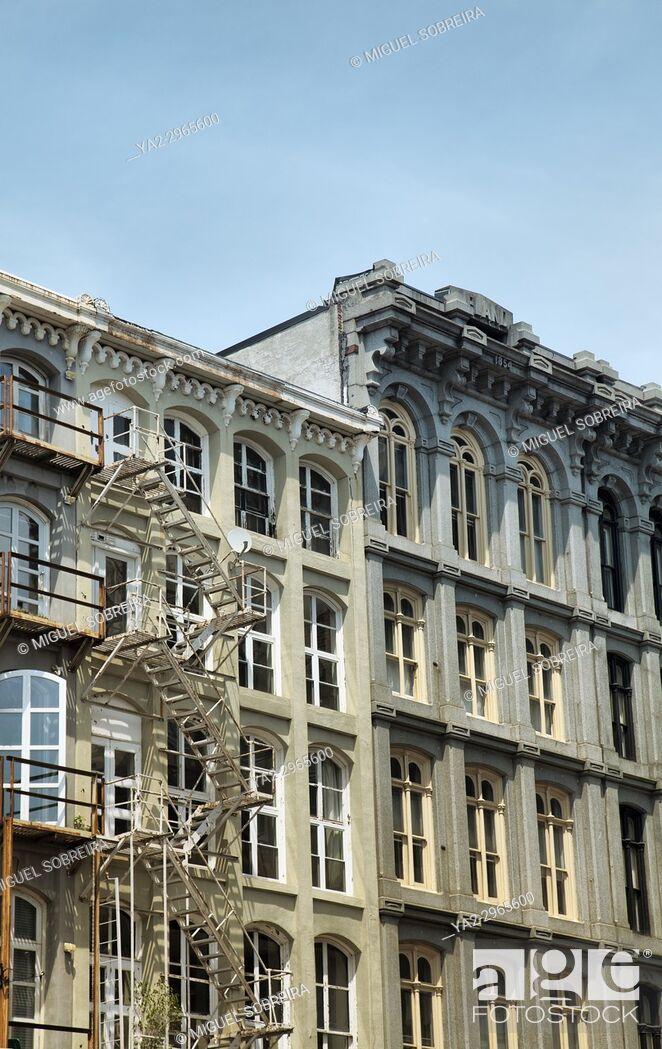 Imagen: Terraced Building in Philadelphia - US.