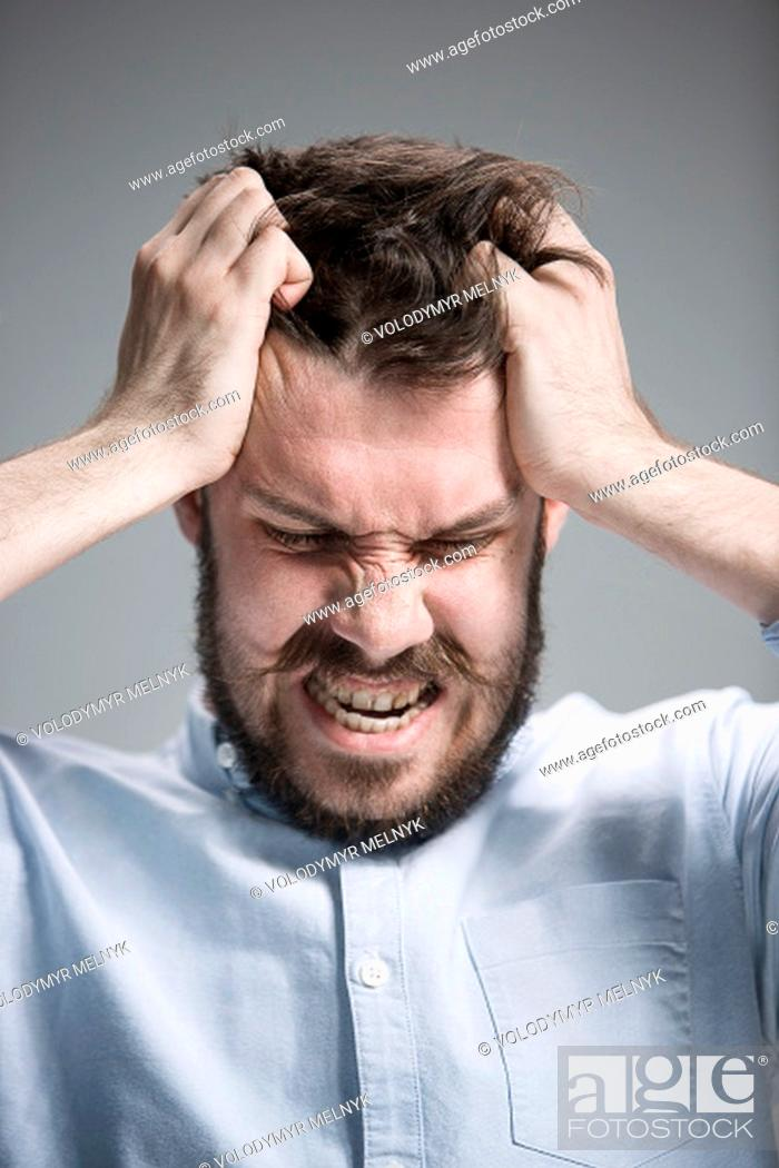 Close Up Of Face Of Desperate Man On Gray Background Stock Photo Picture And Low Budget Royalty Free Image Pic Esy 026281979 Agefotostock Signing off, church says, i look forward to seeing. https www agefotostock com age en stock images low budget royalty free esy 026281979