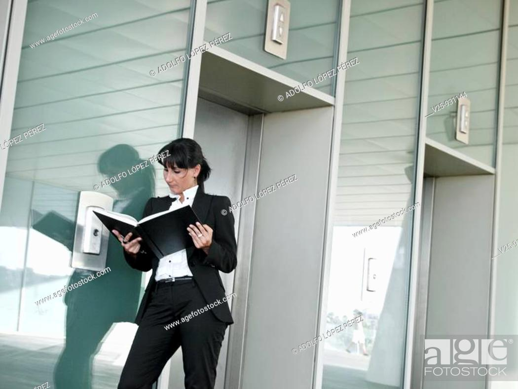 Stock Photo: Businesswoman.