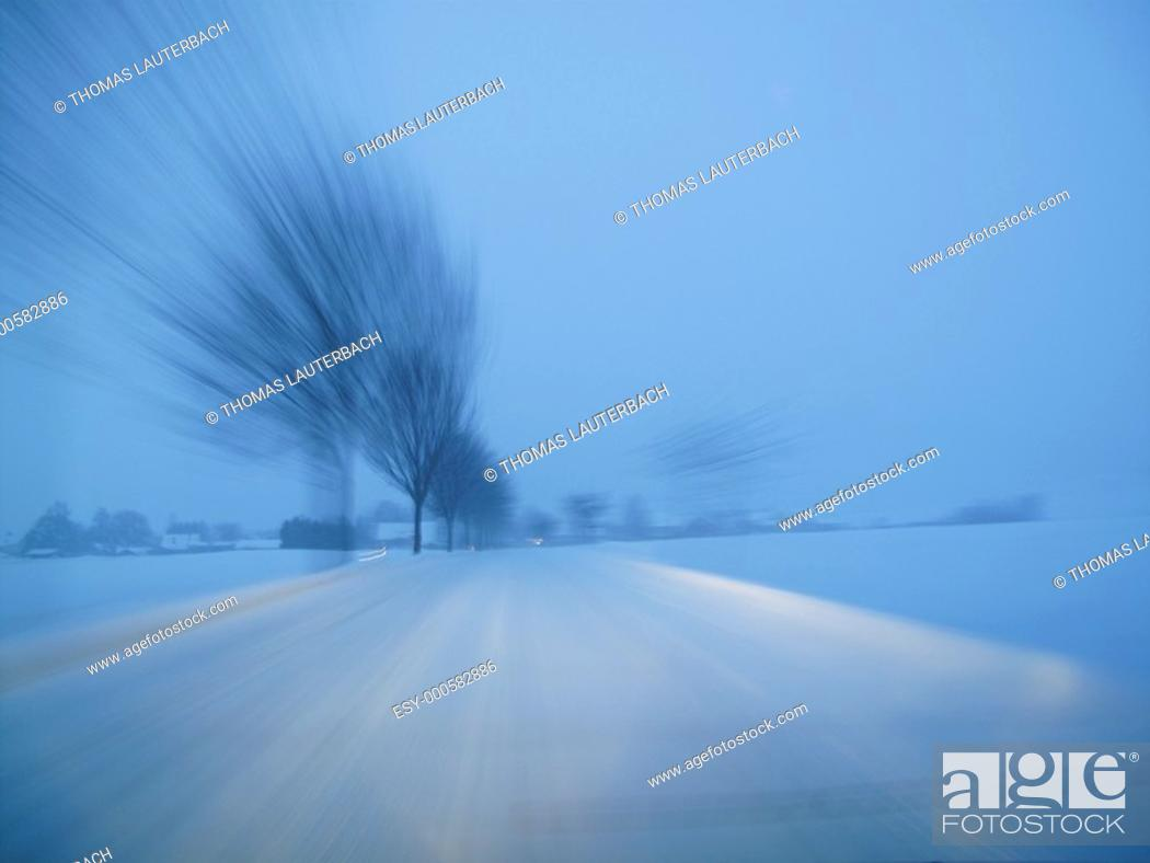 Stock Photo: Snow.