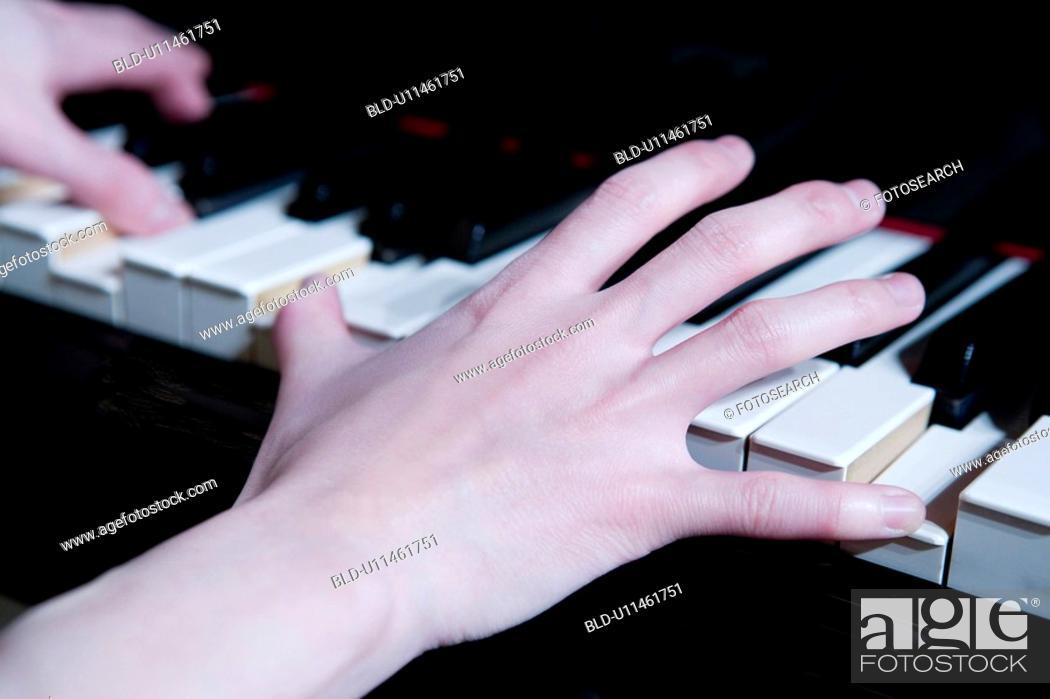Stock Photo: Piano.