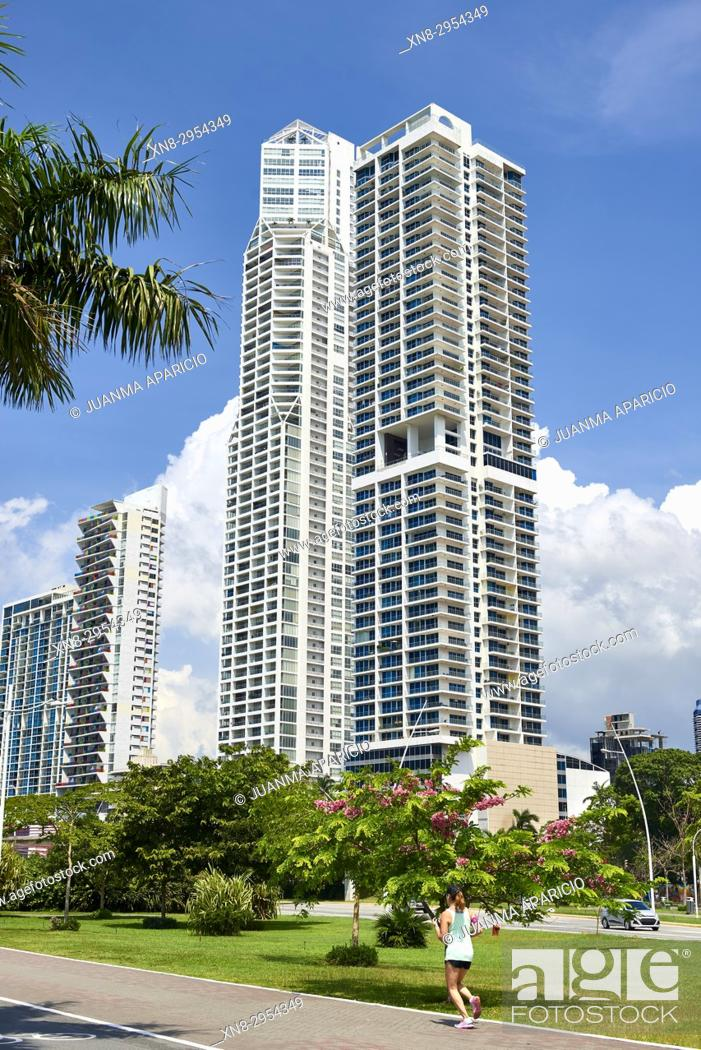 Stock Photo: Panama city, Republic of Panama, Central America, America.
