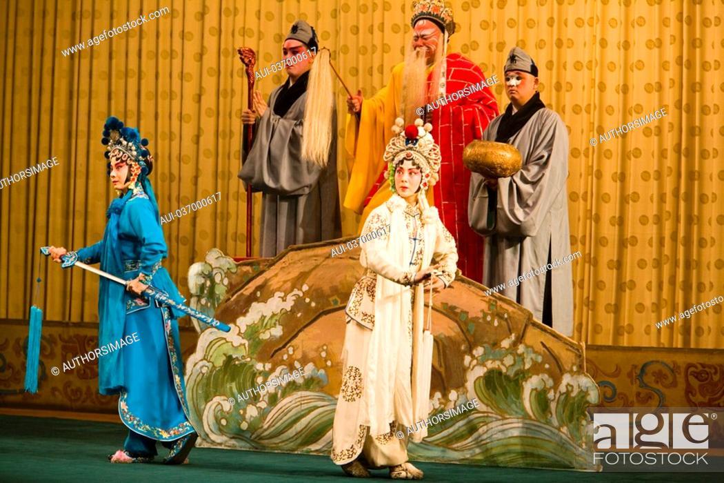 Stock Photo: China - Beijing PÚkin - Liyan Theatre - PÚkin Opera.
