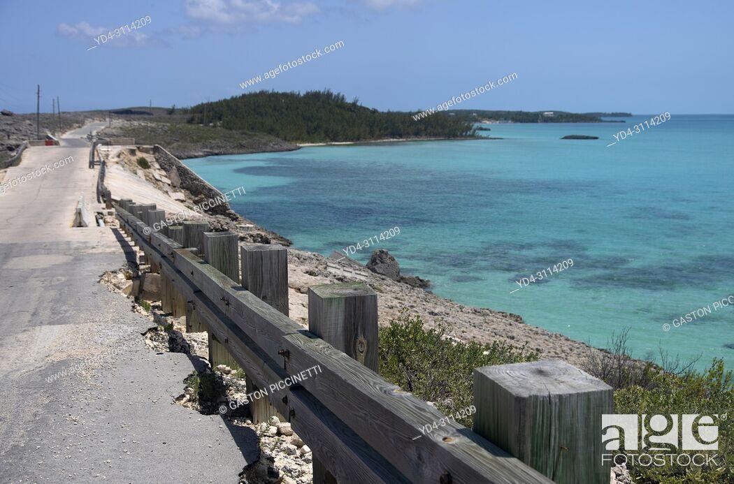 Imagen: Near to Glass Window Bridge, Eleuthera island, Bahamas.