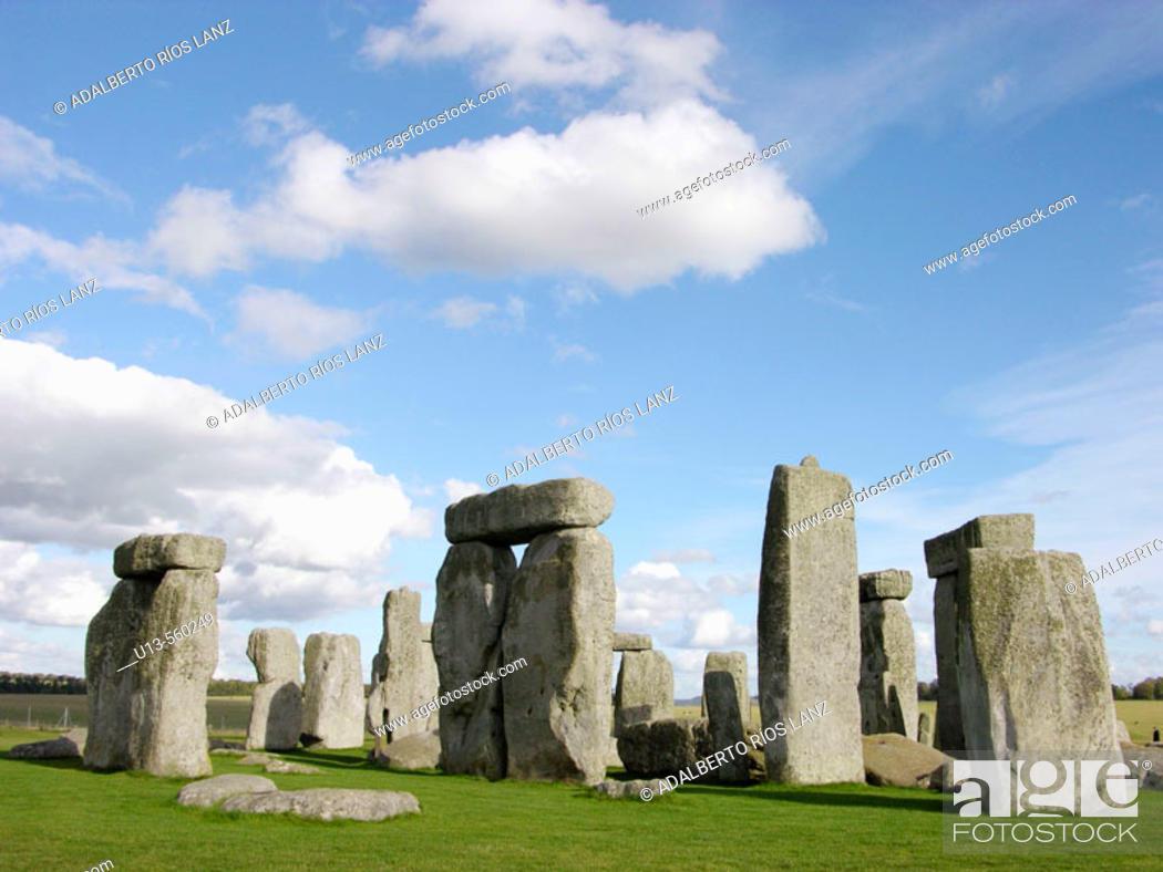 Stock Photo: Stonehenge. England. UK.