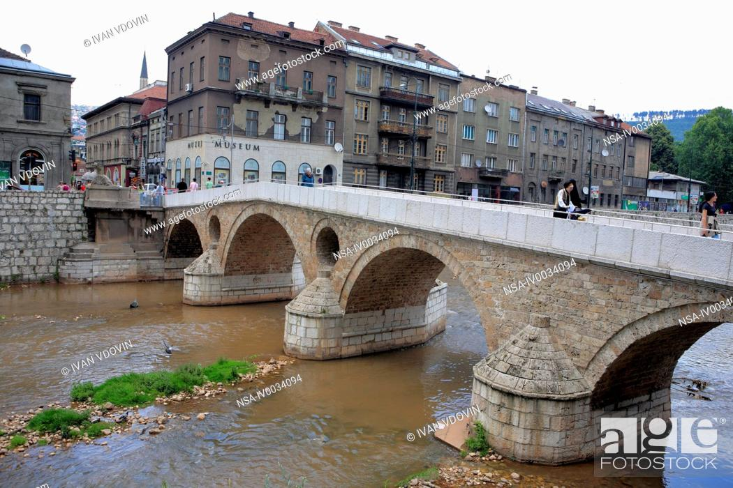 Latin Bridge The Site Of The Assassination Of Franz