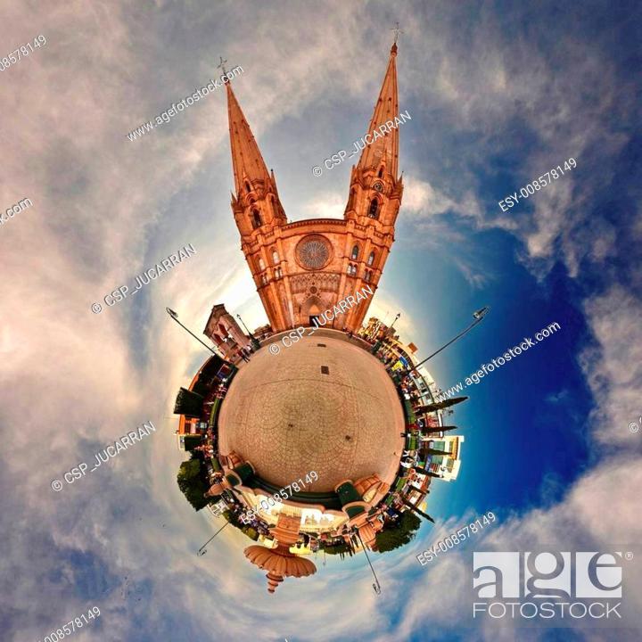Imagen: Planeta de parque en Arandas.
