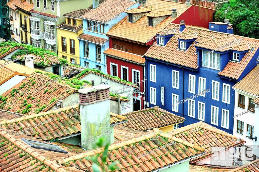 Imagen: Cudillero, Asturias, Spain.
