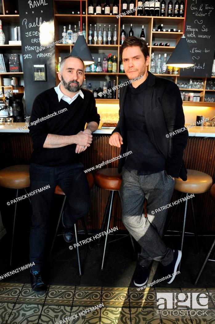 Daniel Bruehl And Atilano Gonzalez Promoting Their Book Tapas