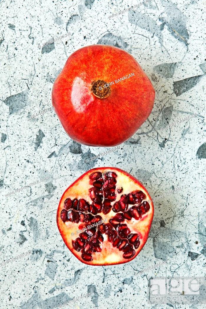 Stock Photo: Pomegranate.