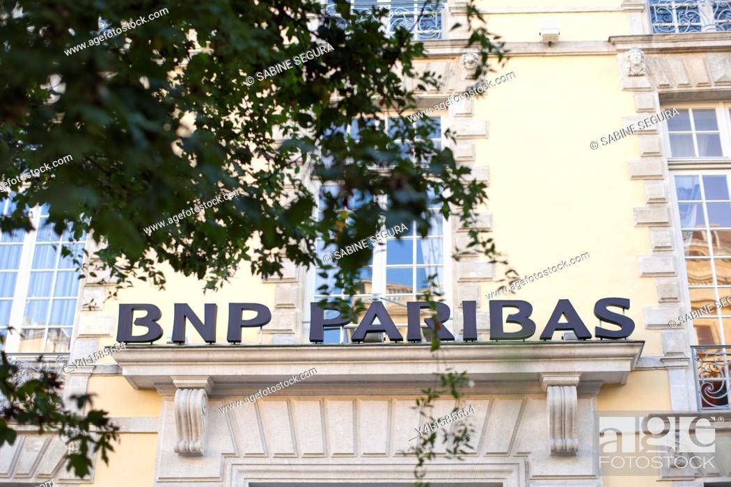BNP Paribas Bank Bordeaux gironde Aquitaine france, Stock ...