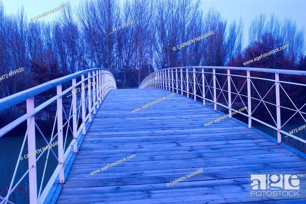 Stock Photo: 'Parque de la Isla', Palencia, Castilla-León, Spain.