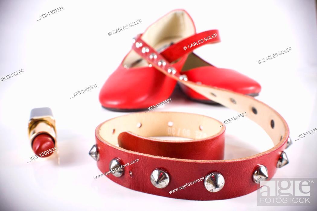 Stock Photo: Fashion accessories.
