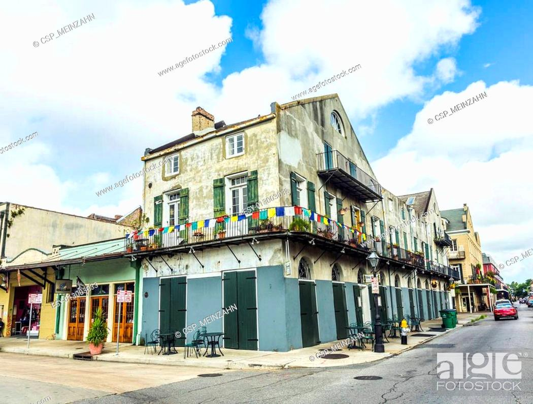Imagen: historic building in the French Quarter.