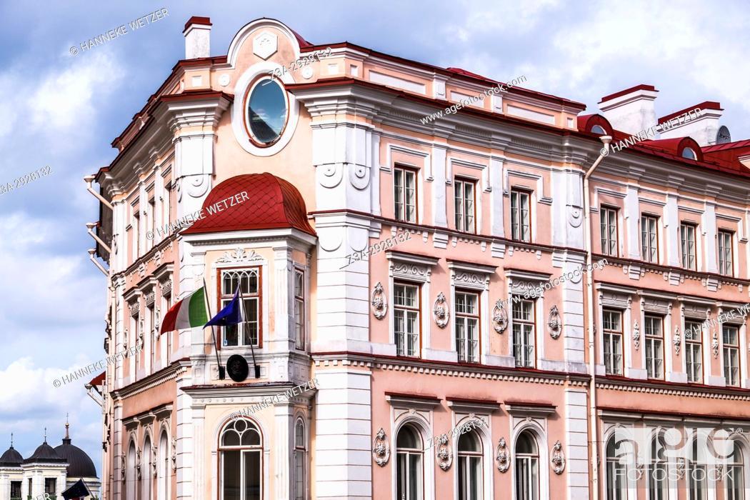 Stock Photo: Hotel in Tallinn, Estonia.