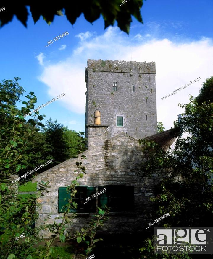 Stock Photo: Thoor Ballylee, Gort, Co Galway, Ireland, Home of William Butler Yeats.