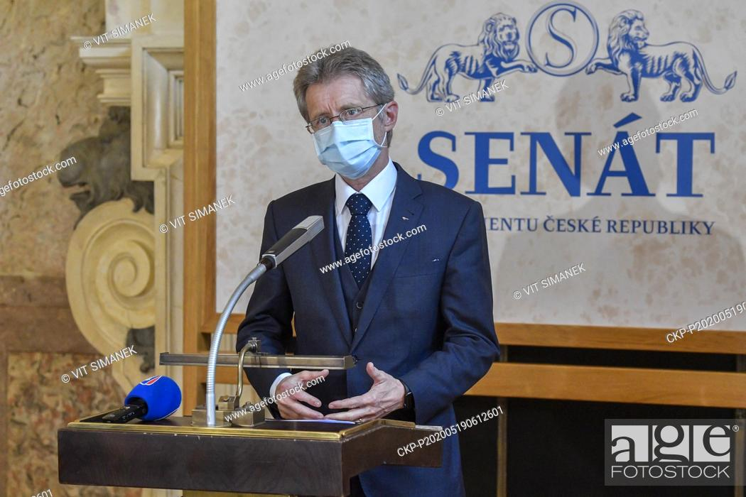 Stock Photo: The suggested trip to Taiwan will be more realistic if China dictates to the Czech Republic and the Senate what to do, Senate head Milos Vystrcil (Civic.