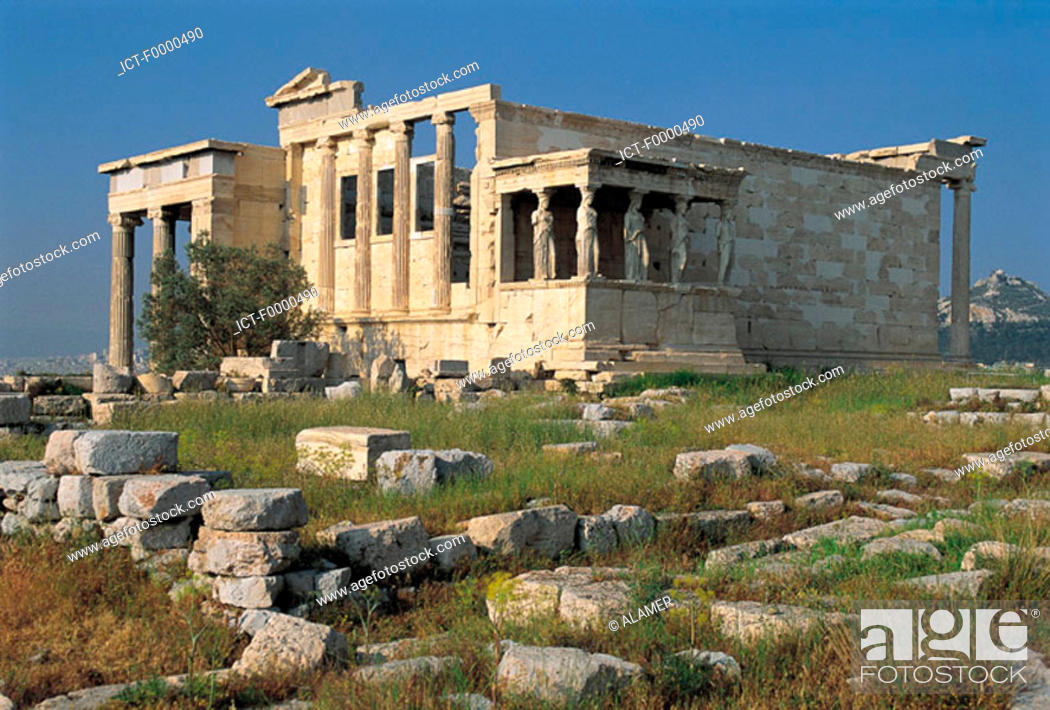 Stock Photo: Athens, Evzones and parliament.