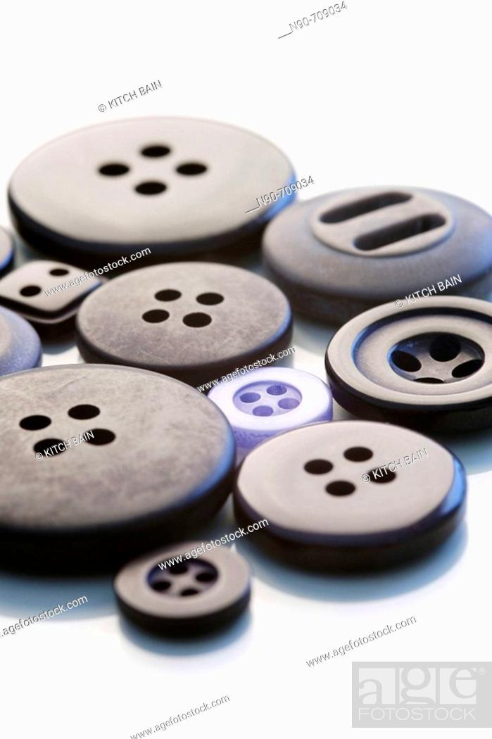 Stock Photo: Buttons.