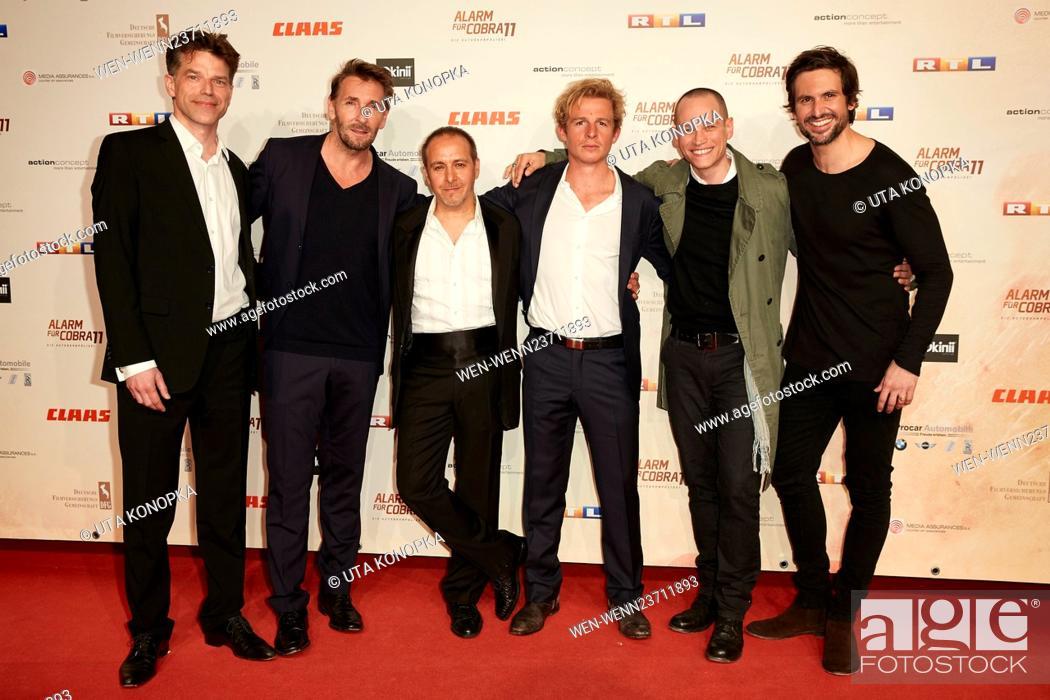 20th Anniversary Of German Tv Series Alarm Fuer Cobra 11 Featuring