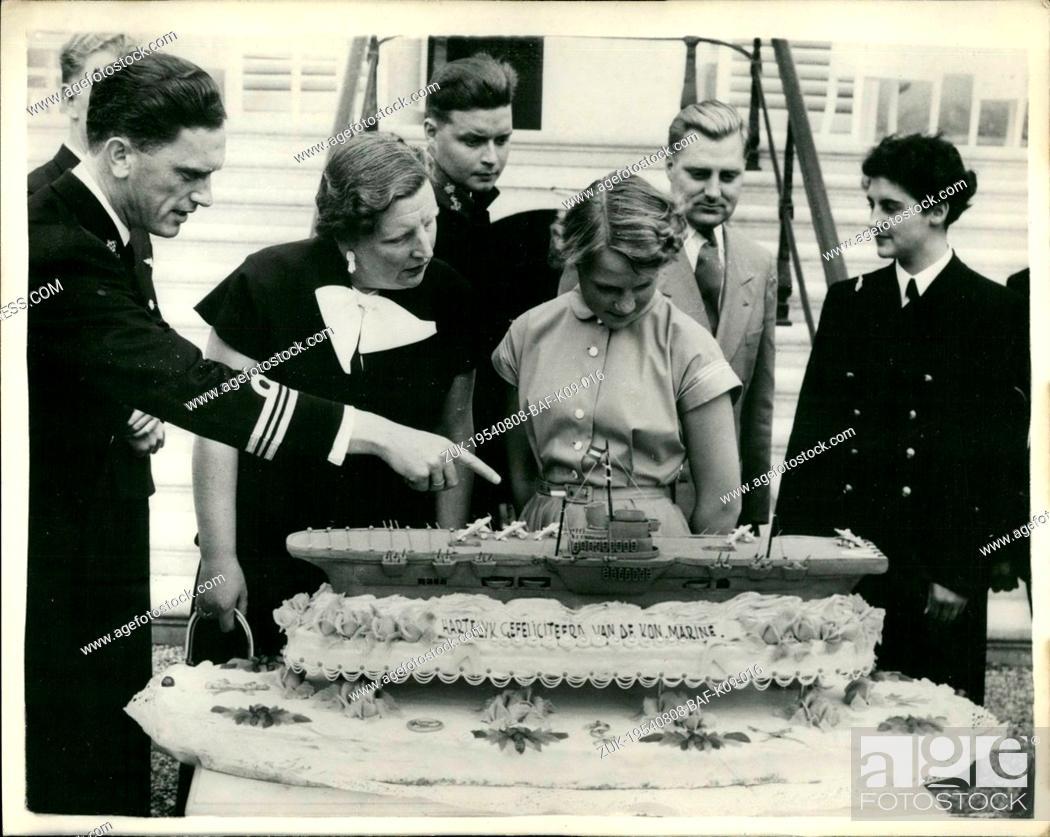 Groovy Aug 08 1954 Princess Irene Of The Netherlands Celebrates Her Funny Birthday Cards Online Alyptdamsfinfo
