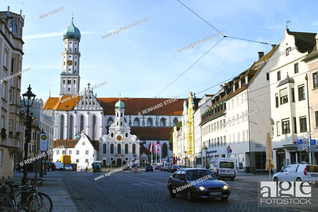 Imagen: Basilica of SS. Ulrich and Afra, Roman catholic church, Augsburg, Bavaria, Germany.
