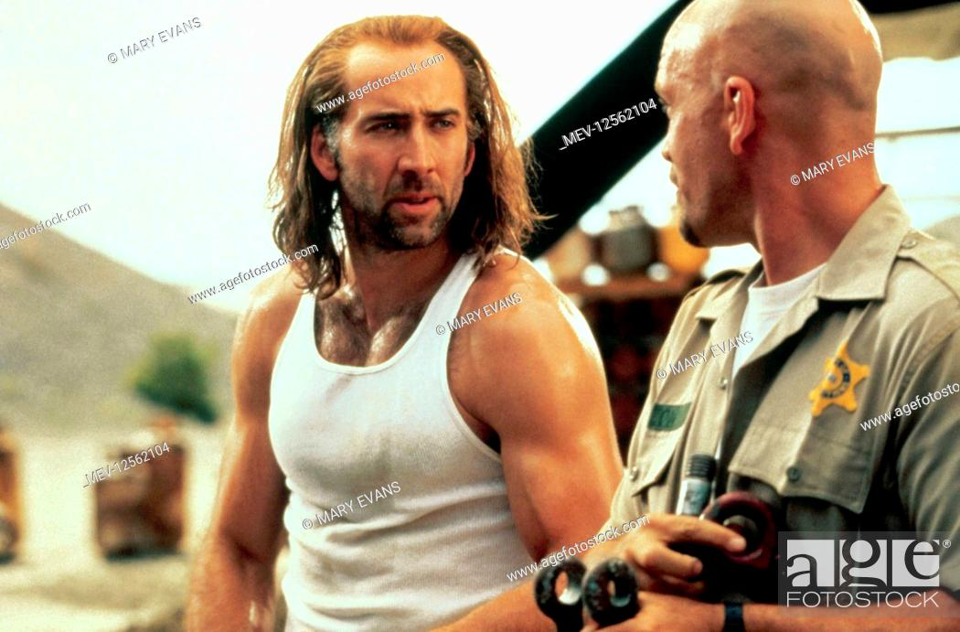 Nicolas Cage John Malkovich Characters Cameron Poe Film Con Air 1997 Director Simon West 05 Stock Photo Picture And Rights Managed Image Pic Mev 12562104 Agefotostock