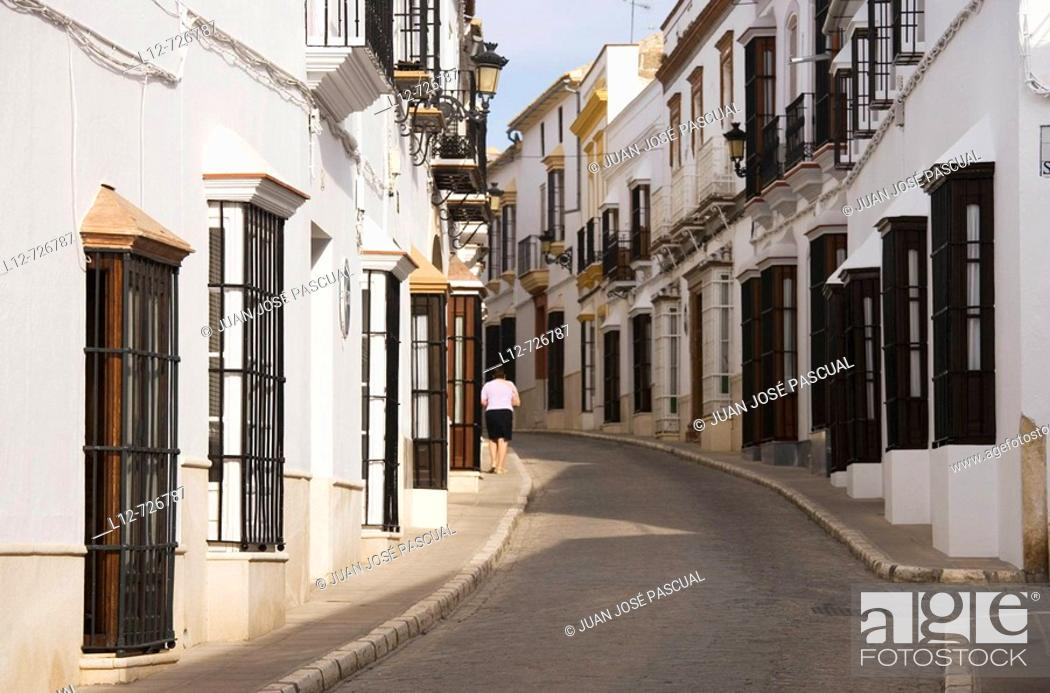 Stock Photo: Osuna. Sevilla province, Andalucia, Spain.