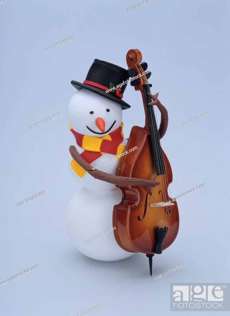 Stock Photo: Snowman.