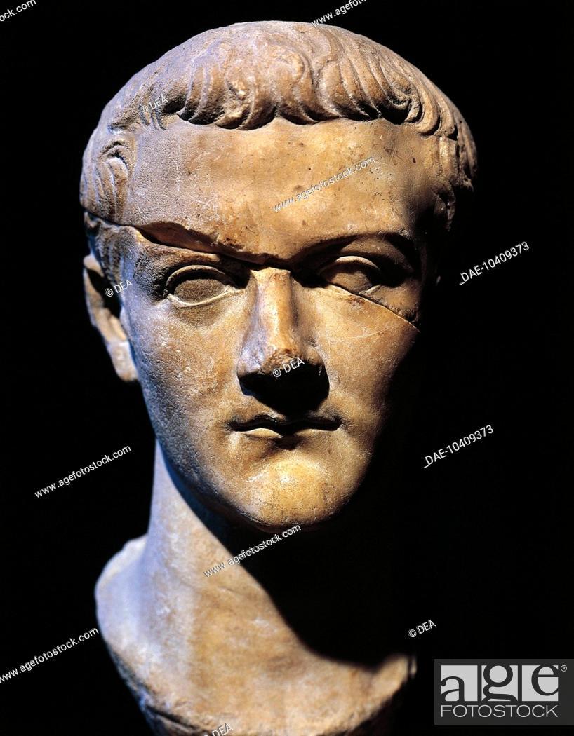 Ancient Roman Gaius Caligula As 1st Century Ad Roman Ancient