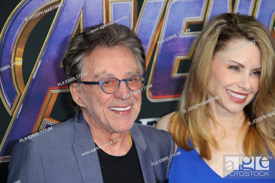 """Stock Photo: Frankie Valli at The World Premiere of Marvel Studios' """"""""Avengers: Endgame"""""""" held at the Los Angeles Convention Center, Los Angeles, CA, April 22, 2019."""