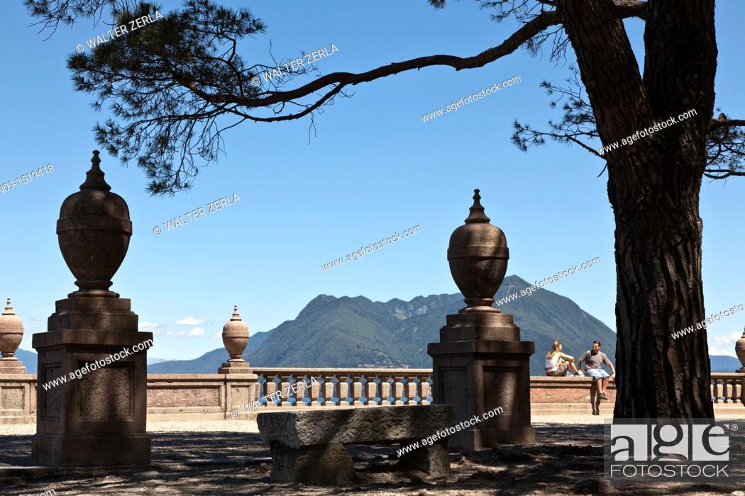 Stock Photo: Stresa, Lake Maggiore, Italy.