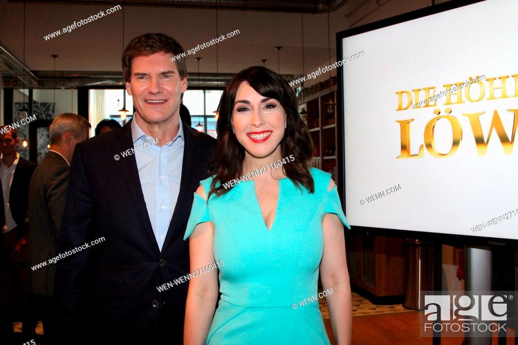 German Businessmen At Vox Tv Show Die Hohle Der Lowen Stock Photo