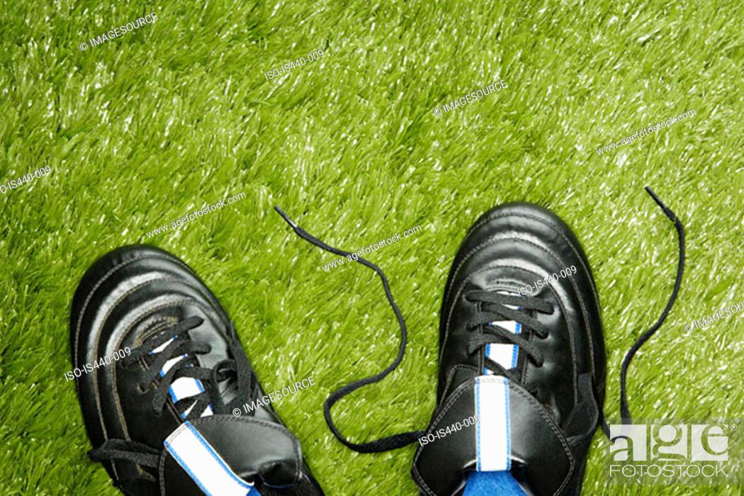 Stock Photo: Football boots.