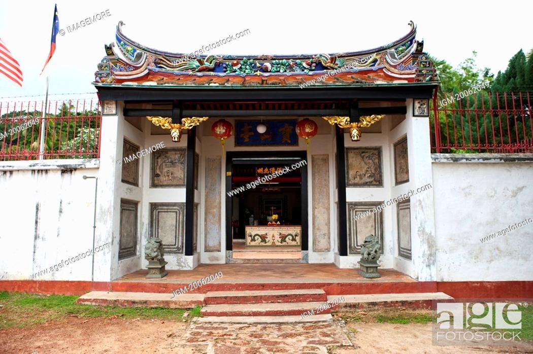 Stock Photo: Malaysia, Melaka State, Sam Po Kong Temple.