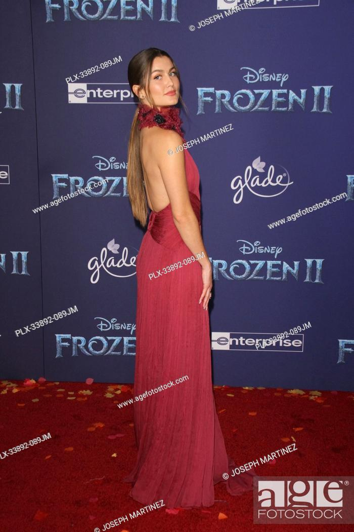 "Stock Photo: Rachel Matthews at Disney's """"Frozen II"""" World Premiere held at the Dolby Theatre in Hollywood, CA, November 7, 2019. Photo Credit: Joseph Martinez /."