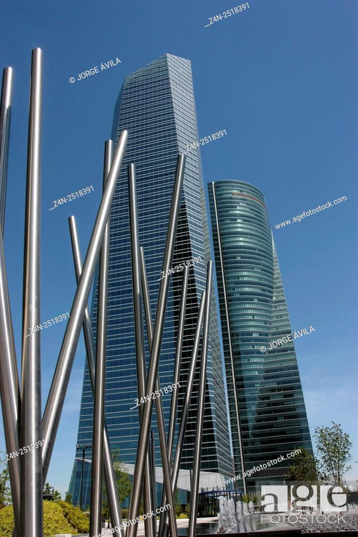 Imagen: Cristal Tower, Madrid, Spain.