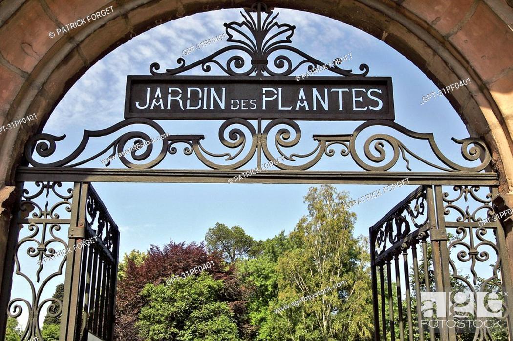PARK \'JARDIN DES PLANTES\', TOULOUSE, HAUTE-GARONNE 31 ...