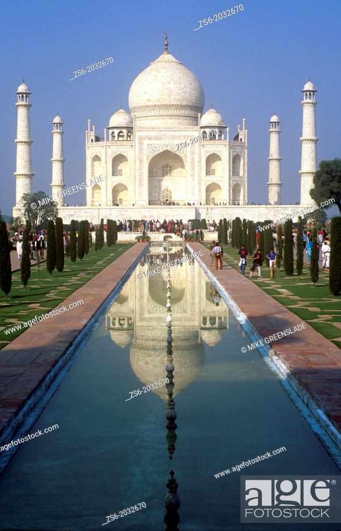 Imagen: Early morning , Taj Mahal, Agra, Uttar Pradesh, India.