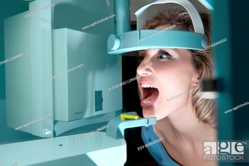 Stock Photo: Dental x-ray.