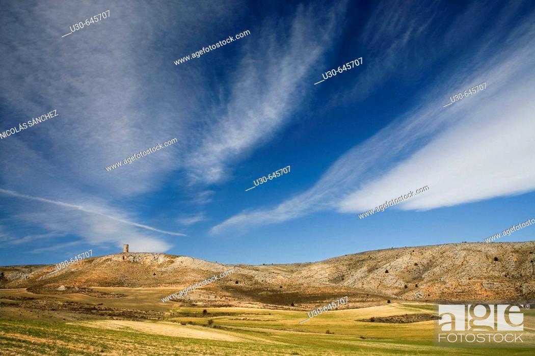 Stock Photo: El Burgo de Osma. Soria province. Castilla y León. Spain.
